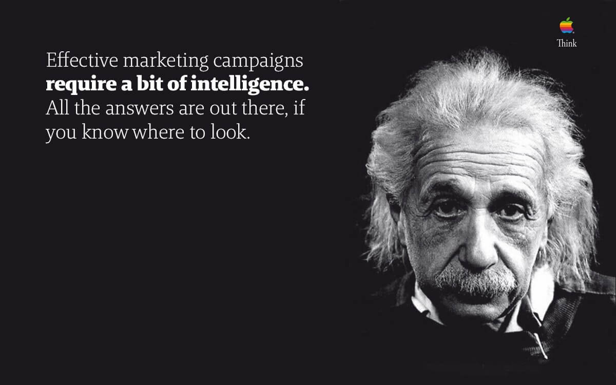 strategic marketing campaigns and how your agency doesn't need to be Einstein to be effective