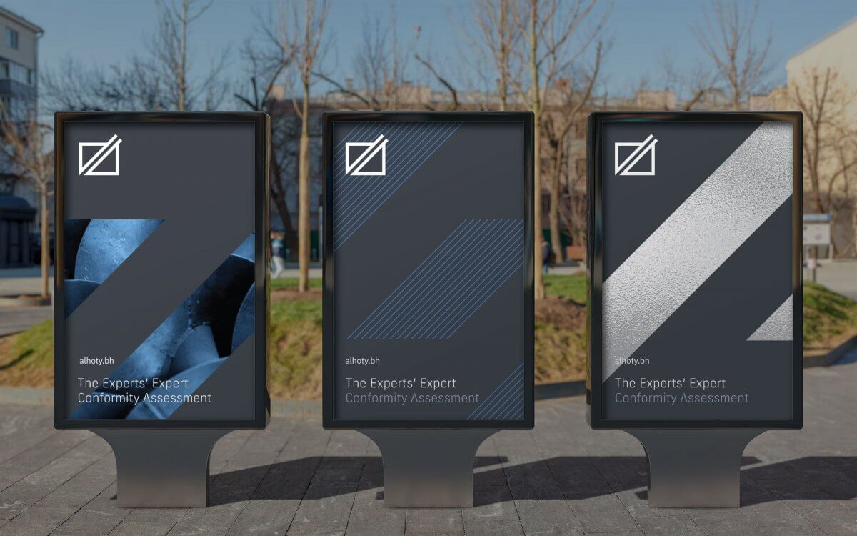 Industrial Services Rebrand with an IVIA award winning identity