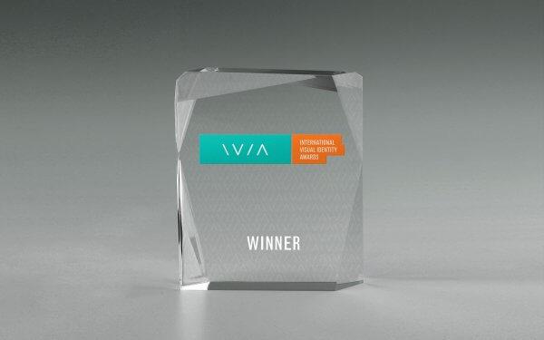 International Visual Identity Award Trophy