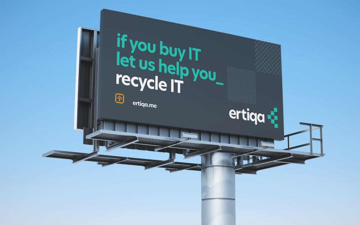 Ertiqa Billboard from Award Winning Creative Agency Unisono